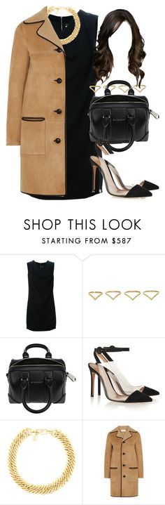 """""""Style #9783"""" by vany-alvarado ❤ liked on Polyvore featuring Yves Saint Laurent, Ana Khouri, Givenchy, Gianvito Rossi, women's clothing, women, female, woman, misses and juniors"""