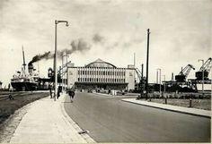 Dworzec Morski w Gdyni projekt Wacław Tomaszewski 1932r. #dawnagdynia #gdynia #architecture #modernism #artdeco #oldphoto