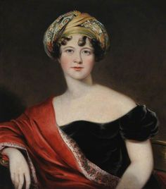 Lady Harriet Cavendish, Countess Granville - Thomas Barber - circa 1809-1810