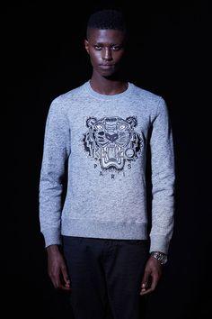21ef2d2d4fef Kenzo Silver Tiger for him - Kenzo Sweatshirts   Sweaters Men - Kenzo E-shop