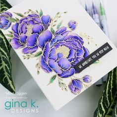 Foam Crafts, Paper Crafts, Hero Arts Cards, Some Cards, Flower Cards, Watercolor And Ink, Cardmaking, Giveaway, September