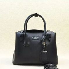 2014 Latest Prada Calf Leather Tote Bag BR5071M in Black
