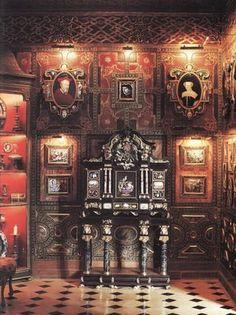 opulent. Room designed by Renzo Mongiardino.