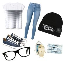 """Cold day at the beach"" by josiee20 ❤ liked on Polyvore featuring 7 For All Mankind, Converse and STELLA McCARTNEY"