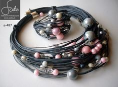 Hemp Jewelry, Textile Jewelry, Beaded Jewelry, Handmade Jewelry, Jewelry Necklaces, Bracelets, Bead Crafts, Jewelry Crafts, Mixed Media Jewelry