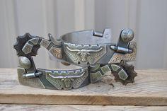 handmade spurs | PRC DOUBLE MOUNTED HANDMADE SPURS