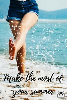 How to make the most of the summer. Pamper yourself. Volunteer for a good cause. Go to the park and have a picnic. Go to an outdoor event. Get a tan. Affirmations For Happiness, Joy And Happiness, Positive Affirmations, Choose Happiness, Muscle And Nerve, Social Media Detox, Digital Detox, Greater Good, Think Positive