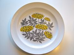 Your place to buy and sell all things handmade Swedish Dishes, Large Plates, Capri, Marimekko, Mid Century Design, Scandinavian Design, Sweden, Pottery, Ceramics