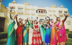 Capturing those picture perfect moments on the day of your wedding is crucial. Make sure you get the best pictures, be prepared by making a photo che Indian Bridesmaids, Indian Bride And Groom, Bff Goals, Wedding Shoot, Lehenga, Cool Pictures, Wedding Planning, Photo Ideas, Outfits