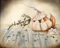 Sabores mediterraneos  Cuadro de Claudia Kunze