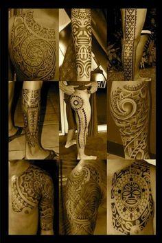 Maori and Polynesian tattoos