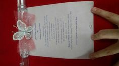 Custom made invitations by Karen's Bridal & Gifts!
