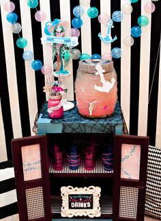 Monster High Birthday Party   Part 3: Haunted Drink Station