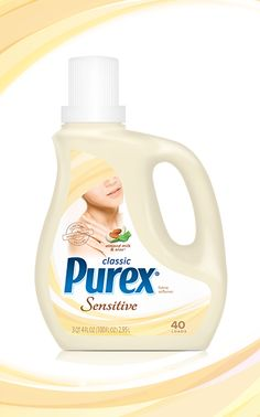 Classic Purex Fabric Softener for Sensitive Skin – Almond Milk & Aloe: Enjoy fresh, soft laundry for all skin types with a light fragrance.