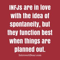 Just another INFJ paradox...    it all makes sense now!!!!!!!!!!