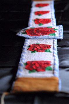 Beaded Rose Belt