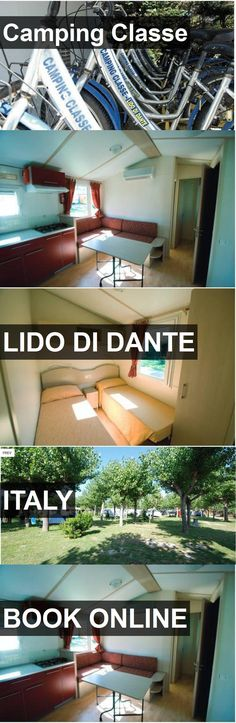 Hotel Camping Classe in Lido di Dante, Italy. For more information, photos, reviews and best prices please follow the link. #Italy #LidodiDante #travel #vacation #hotel