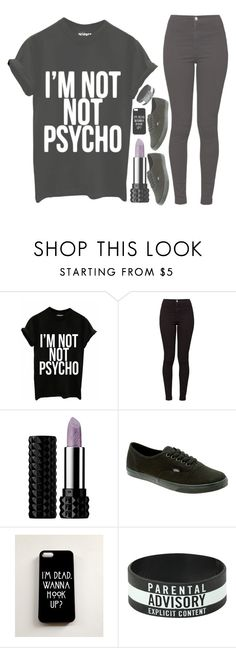 """""""#270 ~Brick by brick by brick, these walls begin to cave in~"""" by breakingtherose ❤ liked on Polyvore featuring American Apparel, Kat Von D, Vans, Coven, women's clothing, women, female, woman, misses and juniors"""