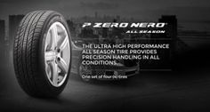 Enter To Win Pirelli High Performance Tires