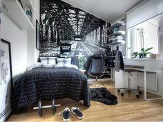 Фотография: Спальня в стиле Современный, Хай-тек, Малогабаритная квартира, Квартира, Советы – фото на InMyRoom.ru