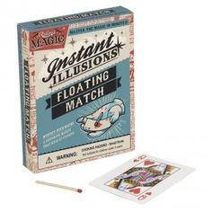 Wanna get your friends out of their seats? Get this floating match trick!  $5.99 #magic #trick #magician