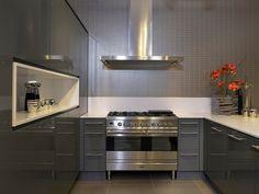 kleine moderne u- keukens inspiratie - Google zoeken