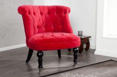 FOTEL EASY CHAIR czerwony by planeta design nowoczesne i designerskie meble fotele krzesła - Planeta Design MEBLE DEKORACJE DESIGNERSKIE NOWOCZESNE KARE INVICTA INTERIOR wysyłka w 48h