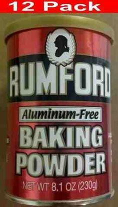 baking soda...  aluminum free