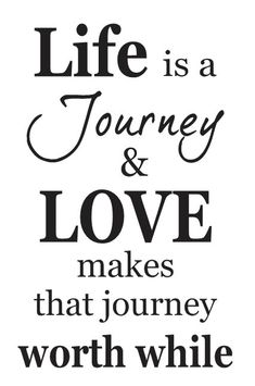Primitive STENCIL Life is a Journey & LOVE makes that journey worth while by OaklandStencil, $17.95