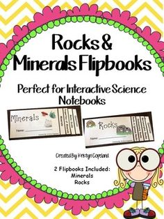 Rocks & Minerals Flipbooks: 2 individual flipbooks- 1 all about Minerals and 1 all about Rocks!  Each flipbook includes a cover, 3 pages of information, a page of questions, and an answer key!Products You Might Also Like: Rocks Mini BookRocks & Minerals PackMinerals FoldableRocks FoldableRocks & Minerals Task CardsRocks & Minerals Test and Study GuideAlso, follow me on TpT & Pinterest and check out my BLOG.