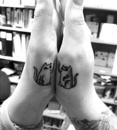 Cat-Tattoo-on-Hand.jpg (480×531)- might be a good best friends tattoo
