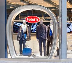 "Themed around the concept of ""The Blue of London"", Bugatti has opened its very first lifestyle boutique on Brompton Road in the exclusive Knightsbridge district."