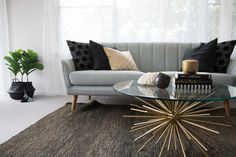 Pre-sale Makeover by Mi Designer Styling. Bedroom Apartment, Two Bedroom Apartments, Makeover, Master Bedroom, Home Decor, Two Bedroom, Renovations, Coffee Table, Furnishings