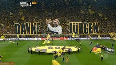 Amazing farewell of Jurgen Klopp on Signal Iduna Park