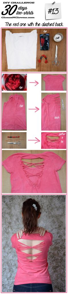 Diy tee-shirt