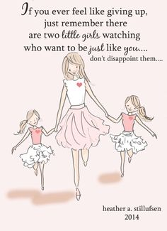 Mom and Daughter Art Art for Moms Inspirational Art for