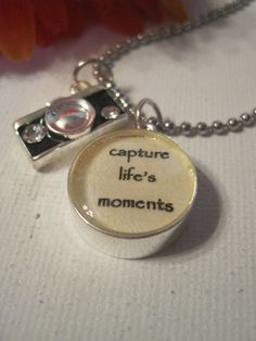 Capture Life Charm Necklace by Perfectly Paired by PPJewelry, $21.00