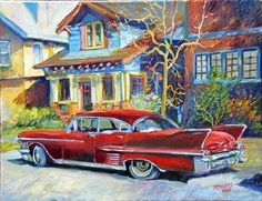 My French Easel: The old Cadillac