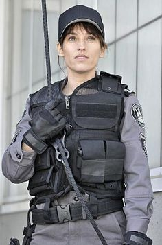 Jules from Flashpoint.....I love her! She is so totally awesome, love her kick-butt attitude!