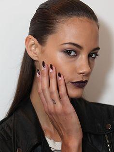 new york fashion week, beauty trends, nail trends, nail art, nail looks