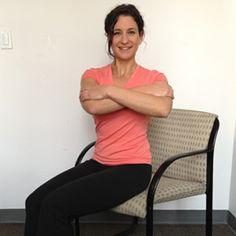 8 Easy Exercises You Can Do Sitting Down - I looked this up for when I have to sit at the computer and do school, I can imagine if you continue to do them it will help