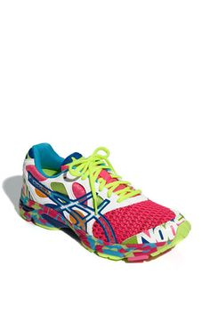 Cutest workout shoes ever- ASICS® 'GEL-Noosa Tri™ 7' Running Shoe (Women) | Nordstrom. AND they glow in the dark :)