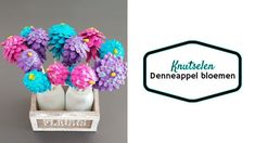 denneappel bloemen knutselen om mee te spelen. - Kreanimo Blogger Themes, Hanukkah, About Me Blog, Om, Decor, Decoration, Decorating, Deco