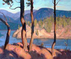 Eric Bowman, American, Idyll Hour, oil on canvas, 24 x 30