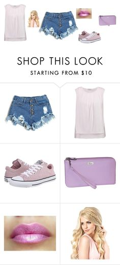 """Untitled #51"" by sara-tadic-1 ❤ liked on Polyvore featuring Clu, Converse and Buxton"