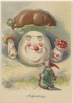 R. Engel-Hardt. Father Christmas visits Toadstool family