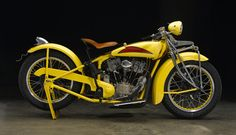 This 1929 Indian-Crocker Overhead-Valve Conversion was sold in May 2007 for $93,600 by Bonhams at the...