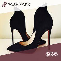 Spotted while shopping on Poshmark: Christian Louboutin Mea Culpa SZ 39! #poshmark #fashion #shopping #style #Christian Louboutin #Shoes