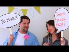 Liven up your next party with a homemade photo booth!  Rachel Kashon of www.lupaandpepi.com will show you how it's done.  All you need is a blank white wall and a little creativity.     All project instruction...