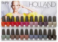 Colección Holanda de OPI 2012